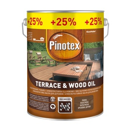 Eļļa Pinotex terrace oil walnut 4+1l