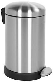 Sauber Round Waste Bin 12l Steel