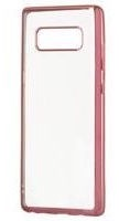 Hurtel Metalic Slim Back Case For Huawei P20 Lite Pink