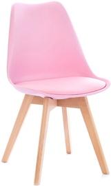 Ēdamistabas krēsls Homede Tempa Pink, 4 gab.