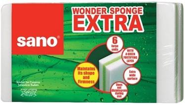 Sano Wonder Sponge Extra 6pcs
