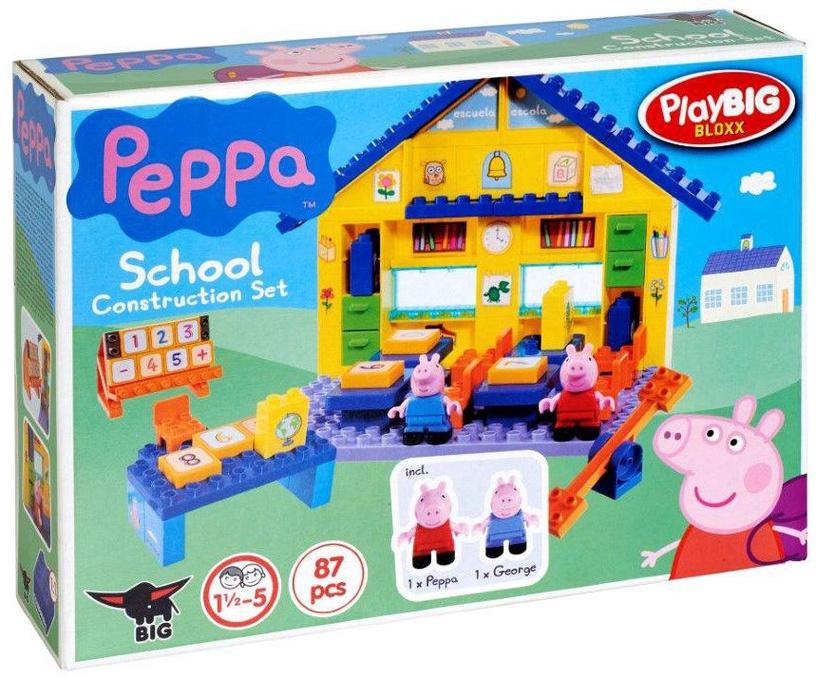Конструктор BIG Peppa Pig School
