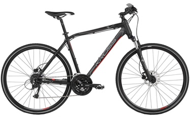 "Kross Evado 5.0 XL 28"" Black Red Matte 2019"