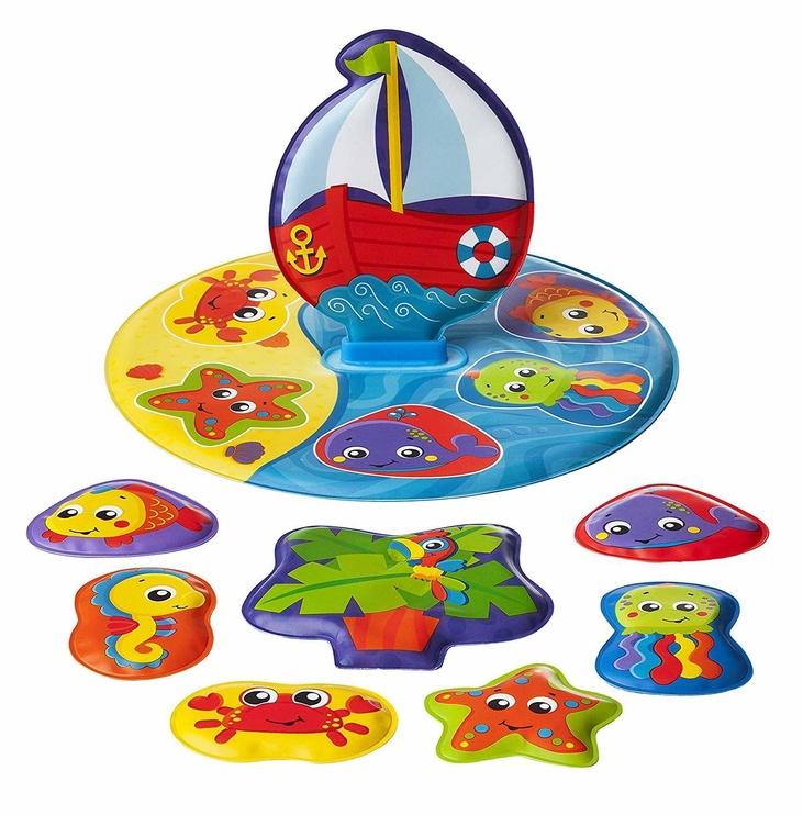 Vannas rotaļlieta Playgro Floaty Boat Bath Puzzle 0186379