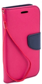 TakeMe Fancy Diary Bookstand Case For Huawei Y7 2019 Pink/Blue