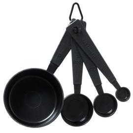Maku Measuring spoons 4pcs Black