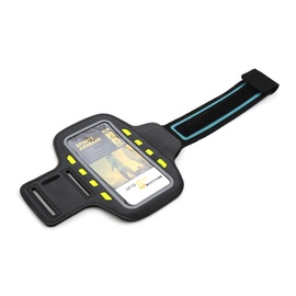 "Platinet Poslb Armband Pouch Case With Led Effects For SmartPhone 5"" Max Black"