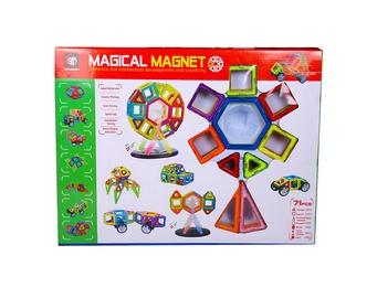 Konstruktors Xinbida Magical Magnet 525050202, 71 gab.