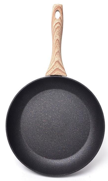 Fissman Black Cosmic Frying Pan D24cm