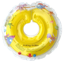 Baby Swimmer Inflatable Neck Ring Yellow 0-36