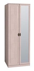 Skapis Glazov Montpellier 2 Light Oak, 80x60.1x219.7 cm