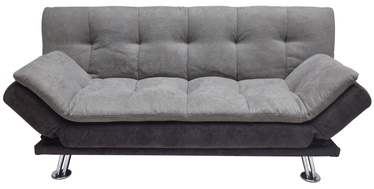 Dīvāngulta Home4you Roxy 11686 Gray/Dark Gray, 189 x 88 x 91 cm