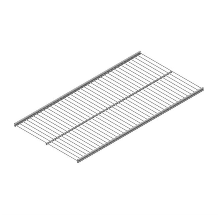 SN Double Wire Shelf 10718-00016 600x400mm Silver