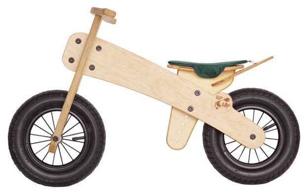 Līdzsvara velosipēds MGS FACTORY DipDap Mini Green Seat