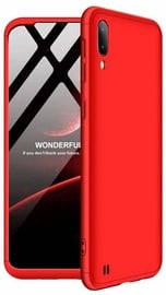 GKK 360 Protection Case For Samsung Galaxy M10 Red