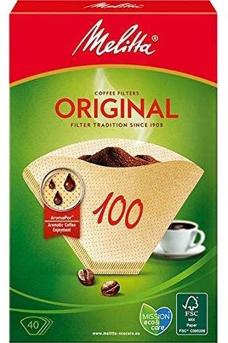 Melitta Original Coffee Filters 40pcs