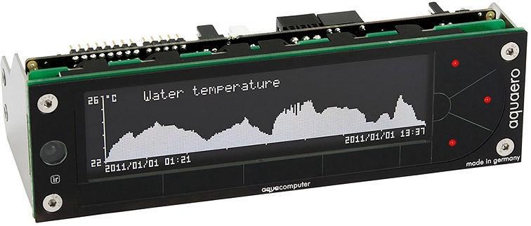 Aqua Computer Aquaero 5 XT (old revision) Faceplate