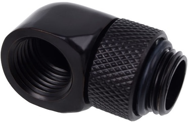 Alphacool Eiszapfen L-connector Rotatable G1/4 Black