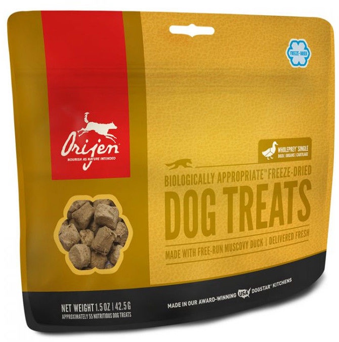 Orijen Dog Treats Free-Run Duck 42.5g