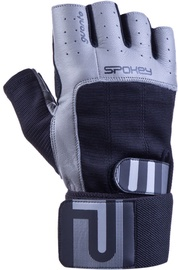 Spokey Guanto II Fitness Gloves Black/Grey M