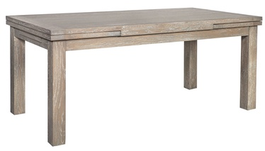 Pusdienu galds Home4you Watson Watson Grey, 1800x780x900 mm