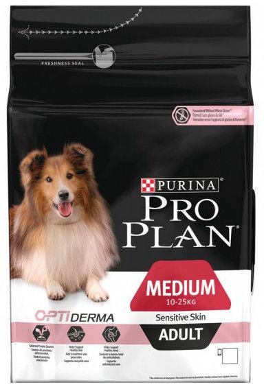 Pro Plan Adult Medium with Sensitive Skin 3kg