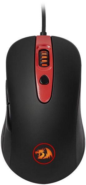 Игровая мышь Redragon Gerderus Black, проводная, оптическая