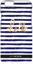 So Seven Back Cover For Apple iPhone 6/6s Blue/White