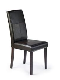 Ēdamistabas krēsls Halmar Kerry Bis Wenge/Dark Brown
