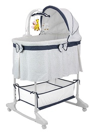 Milly Mally Sweet Melody Cradle 4 in 1 Remote Simple Gray