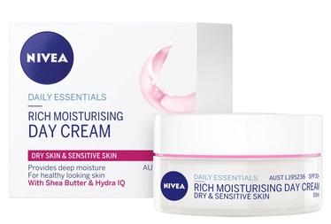 Sejas krēms Nivea SPF15 Nourishing Day Cream, 50 ml
