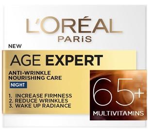 Sejas krēms L´Oreal Paris Age Expert Anti - Wrinkle Nourishing Care 65+, 50 ml