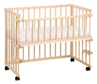 Bērnu gulta Klups Piccolo Natural, 95x45 cm