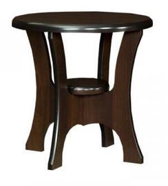 Kafijas galdiņš Bodzio S10 Walnut, 600x600x590 mm