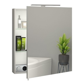 Sanwerk Everest 60 Cabinet w/ Mirror Grey