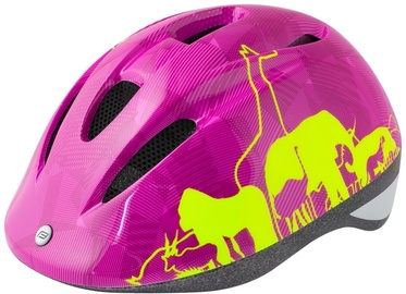 Force Fun Animal Helmet Pink/Yellow S
