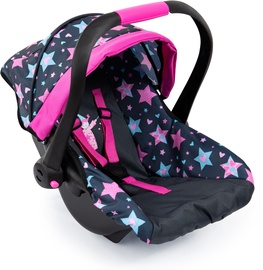Bayer Design Doll Car Seat With Roof Stars