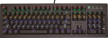 Activejet K-6002 Mechanical Gaming Keyboard US Black