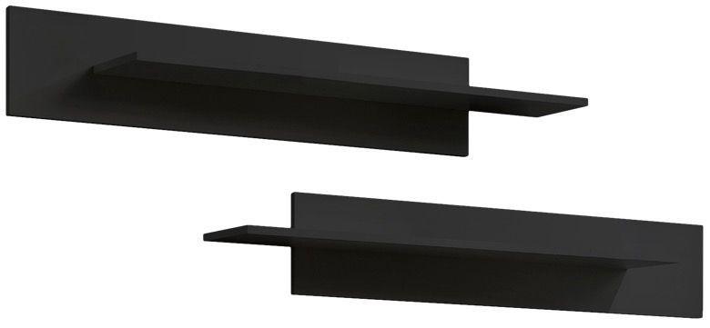 Dzīvojamās istabas mēbeļu komplekts ASM Fly S2 White/Black