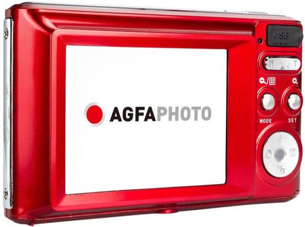 AgfaPhoto DC5200 Digital Camera Red
