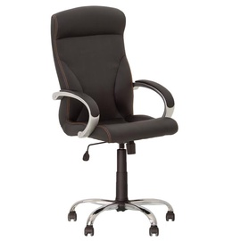 Офисный стул Nowy Styl Riga Comfort Eco-30, черный
