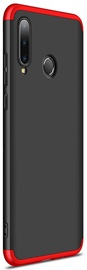 GKK 360 Protection Case For Huawei P30 Lite Black/Red