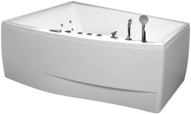 Balteco Cali Bath with S8 Massage System White