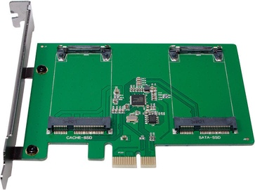 LogiLink PCI-E to 2 x mSATA SSD PC0078