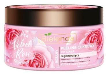 Ķermeņa skrubis Bielenda Super Skin Diet Sugar Scrub Rose, 350 ml