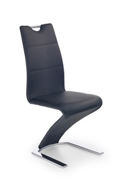 Ēdamistabas krēsls Halmar K - 188 Black, 1 gab.