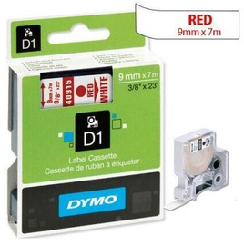 Lente Dymo D1 9MM Red/WH