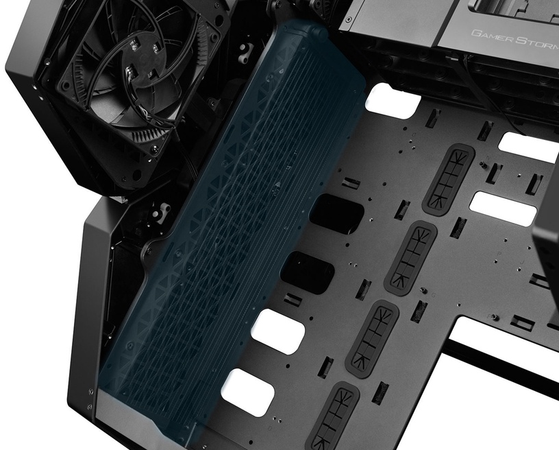 Deepcool Case Quadstellar Black