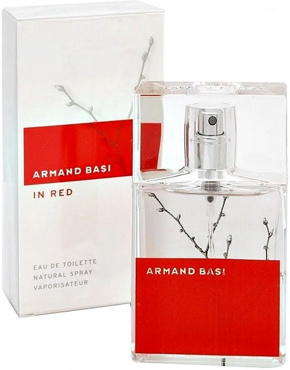 Smaržas Armand Basi In Red 50ml EDT