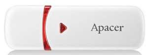 USB atmiņas kartes Apacer AH333 White, USB 2.0, 32 GB